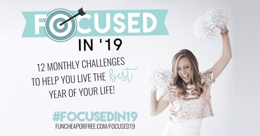 A year of month long challenges, each month with a different focus to help you have the best year yet!