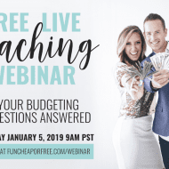 (FREE!) Live Coaching Webinar…let us answer questions about YOUR..