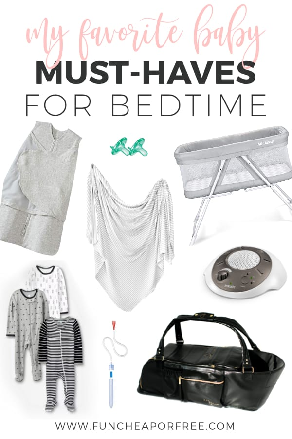 My favorite baby must-haves for bedtime from Fun Cheap or Free