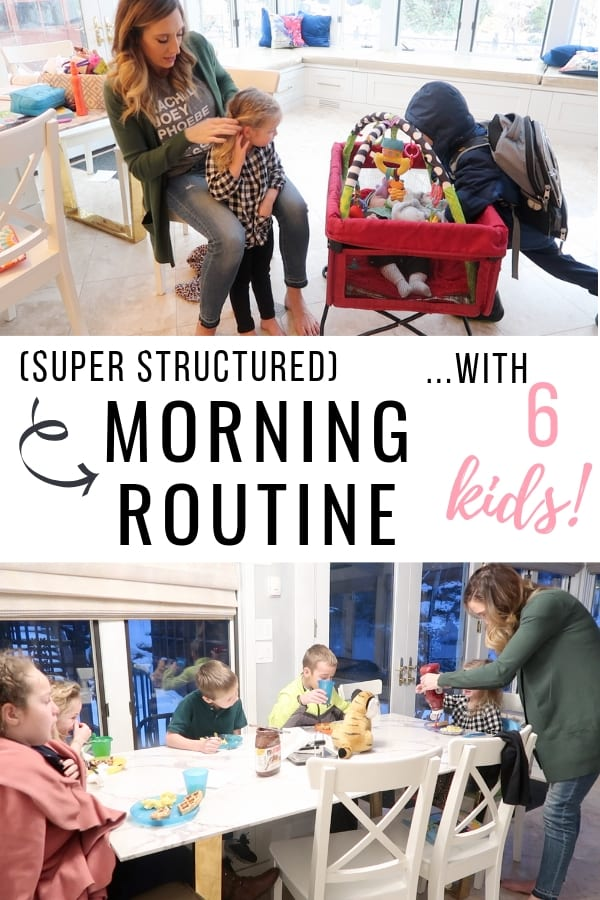 HOLY EFFICIENT, BATMAN! This is a game-changer. Morning routine with 6 young kids. SO MANY good tips! Frpm FunCheapOrFree.com