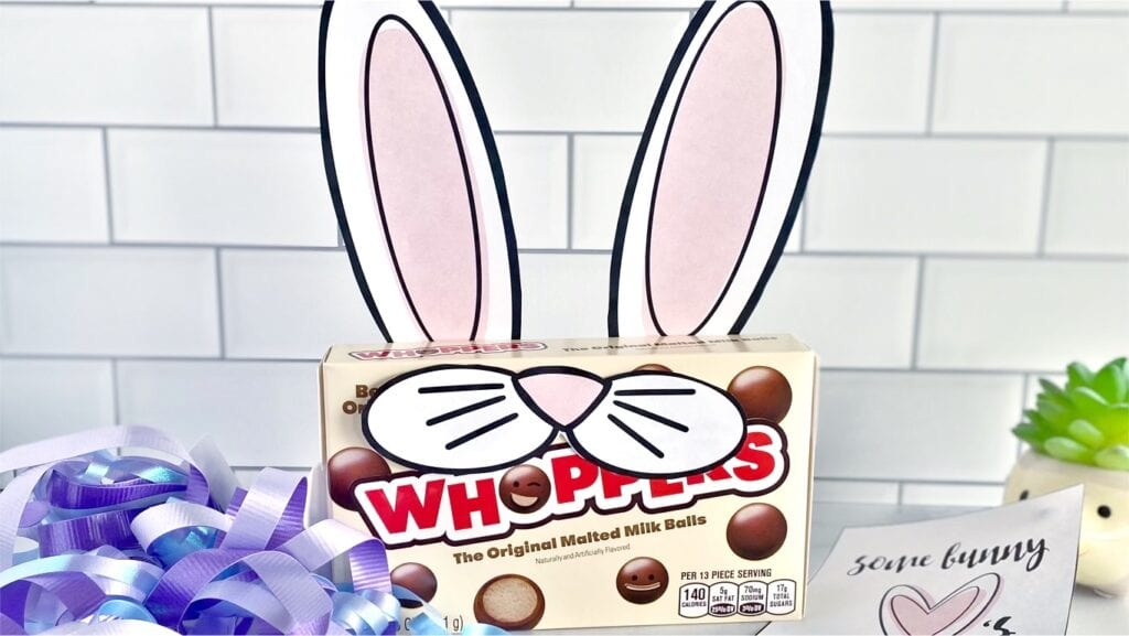Whoppers Easter gift on a counter, from Fun Cheap or Free