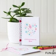 Mother's Day Printable Gift Idea Interview Book