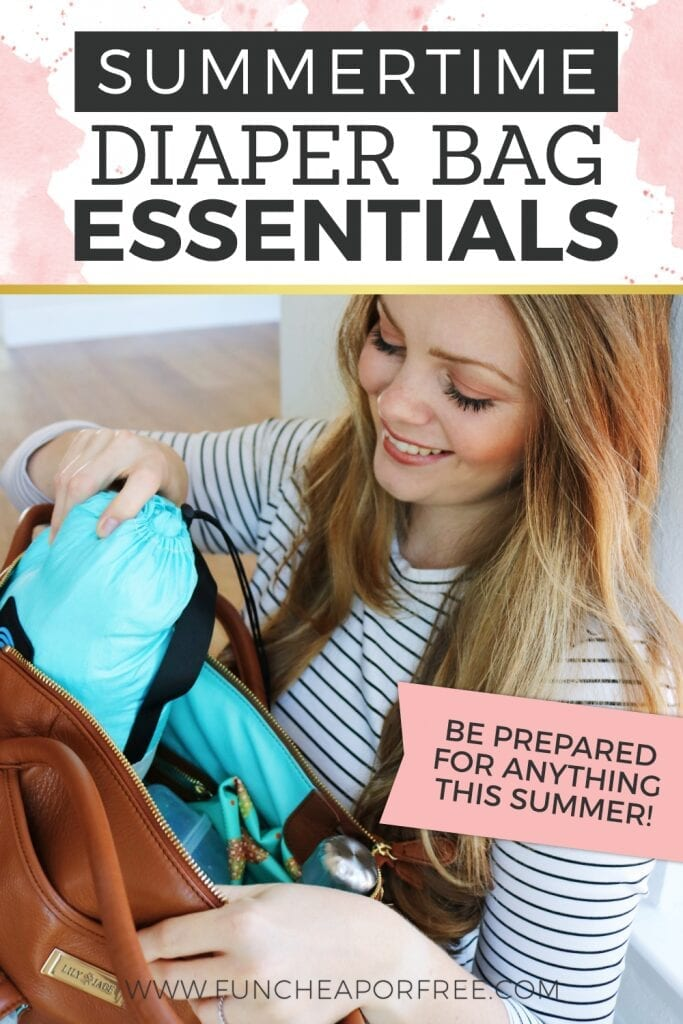 Be prepared for anything this summer with these diaper bag essentials from Fun Cheap or Free