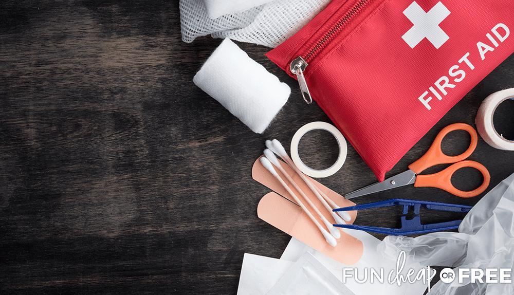 Car Essentials First Aid Kit from Fun Cheap or Free
