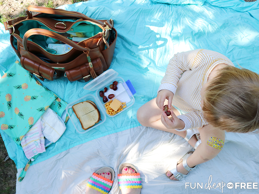 Summer diaper bag lunch box from Fun Cheap or Free!