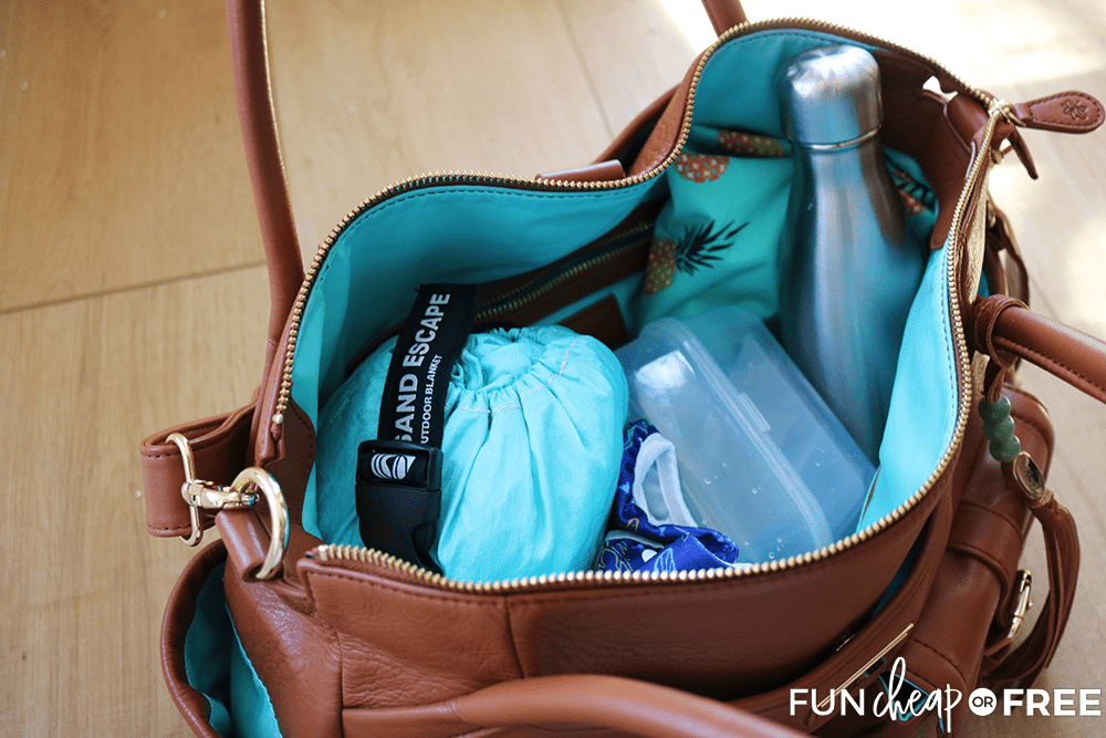 Summer diaper bag tips from Fun Cheap or Free!