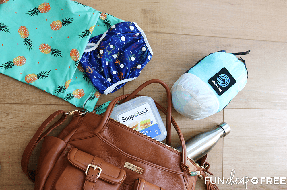 Summer diaper bag essentials to save you money from Fun Cheap or Free!