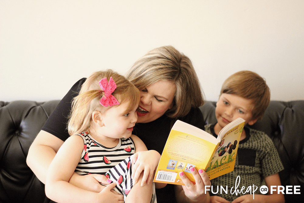 Read Together For A Strong Family from Fun Cheap or Free