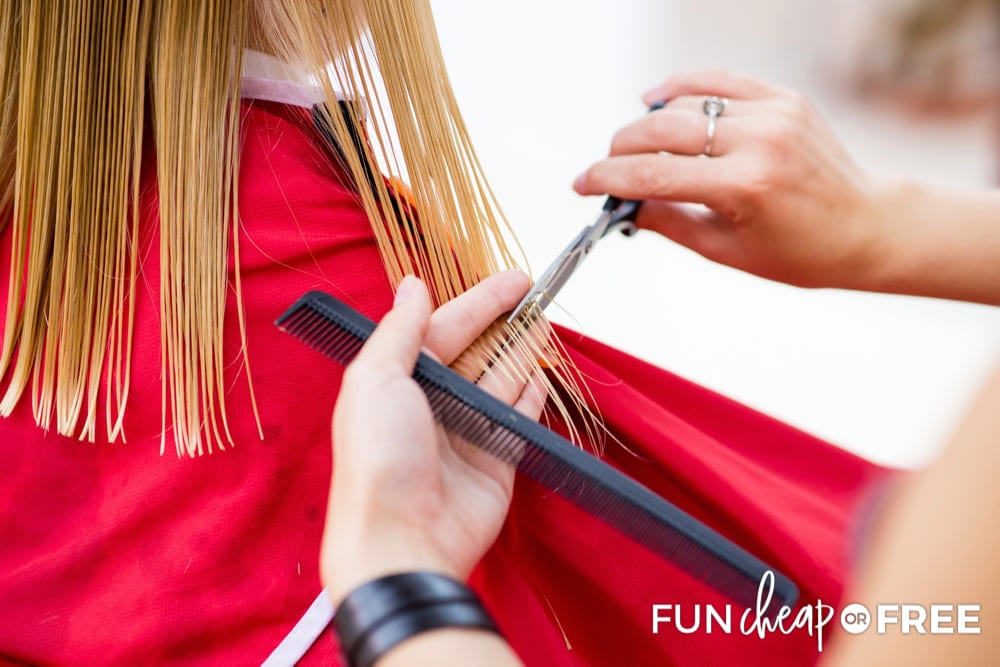 Get your child's first haircut on Main Street Disney from Fun Cheap or Free