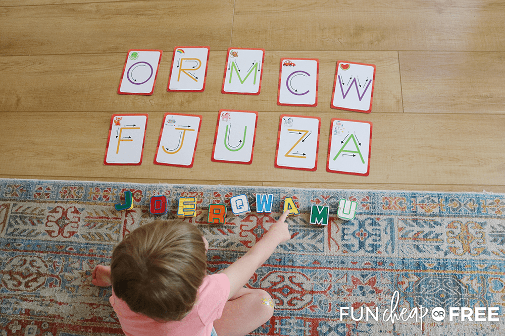 Alphabet Matching For Kids From Fun Cheap Or Free
