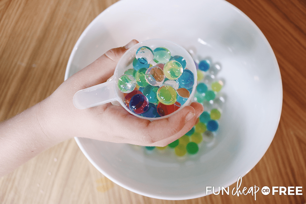 Water beads are fun things for kids to do - from Fun Cheap or Free