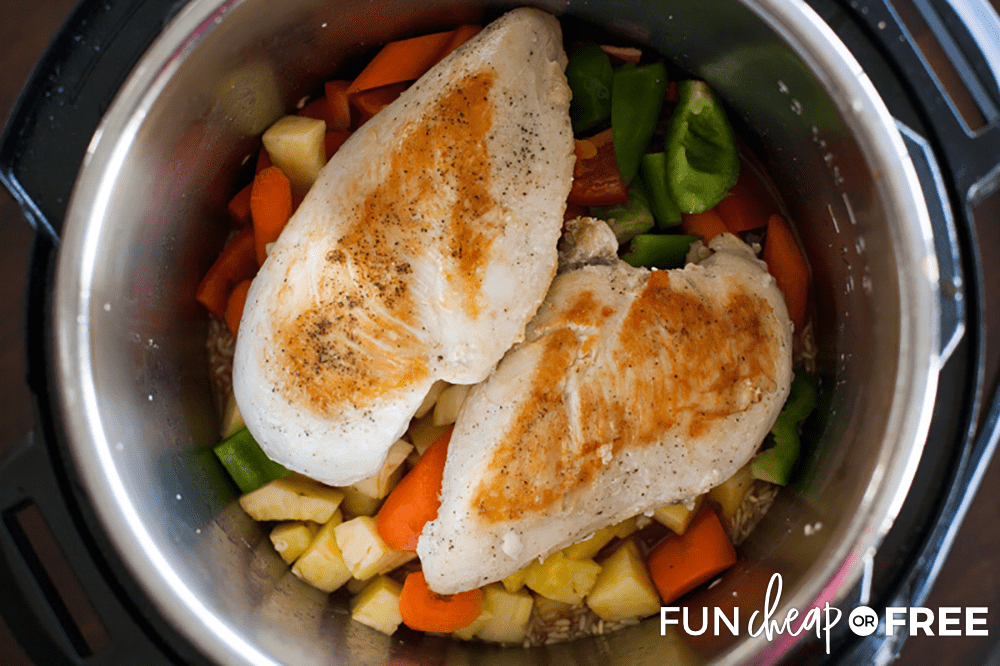 Try out this easy instant pot meal from Fun Cheap or Free.