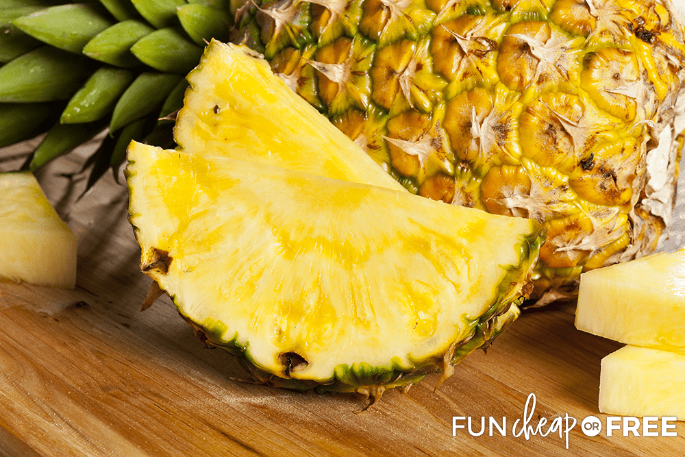 How To Pick The Perfect Pineapple from Fun Cheap or Free