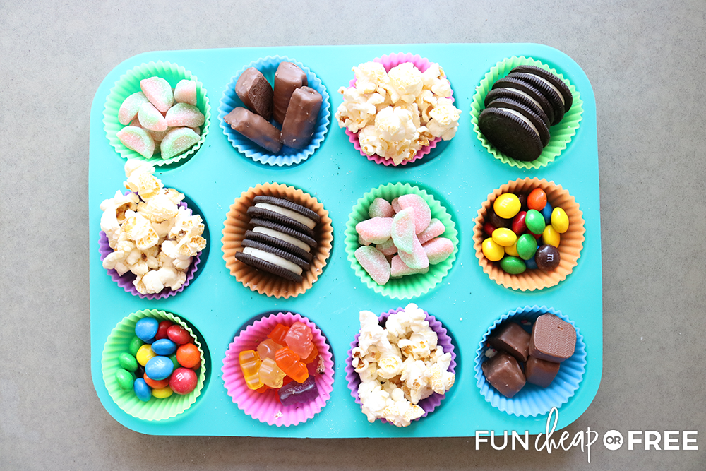 The Movie Night Snack Tray from Fun Cheap or Free