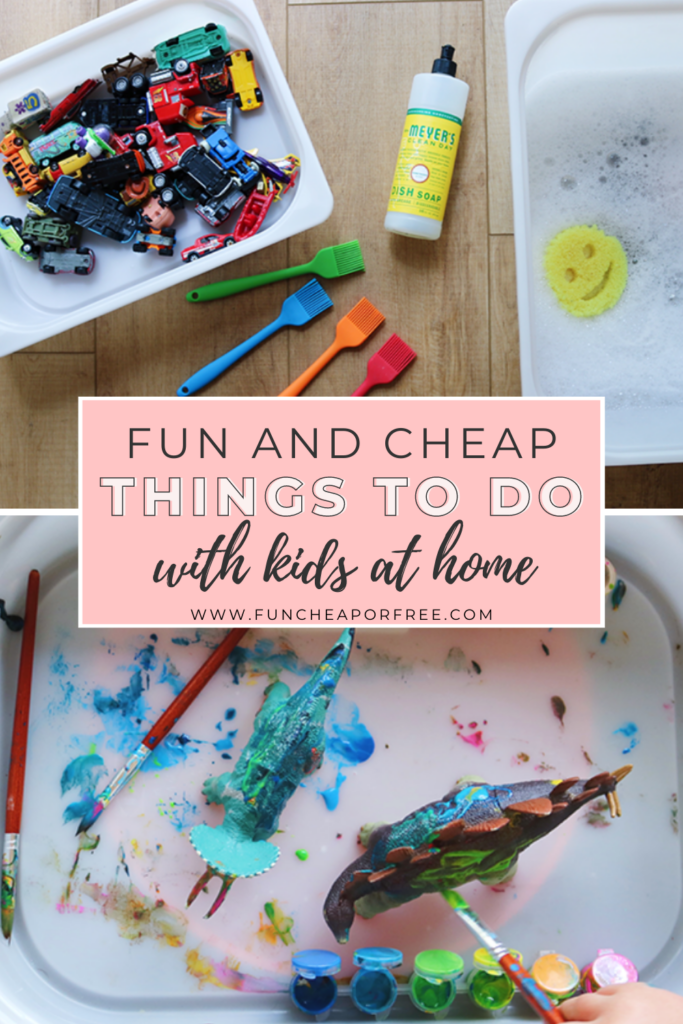 "Image with text that reads ""fun and cheap things to do with kids"" from Fun Cheap or Free"