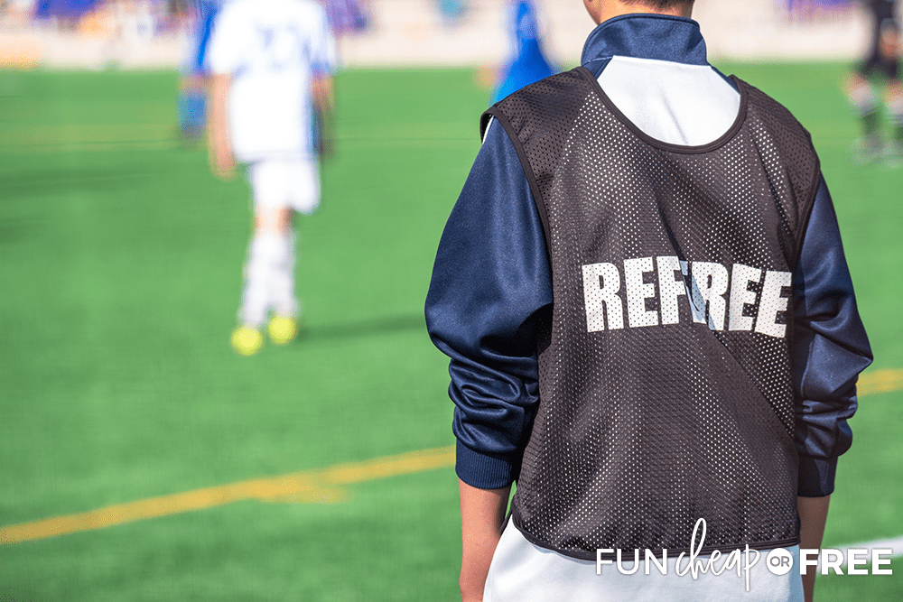 Officiating Youth Sports To Make Money from Fun Cheap or Free