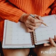 August: Back to Productivity Month Calendar and Weekly Challenges