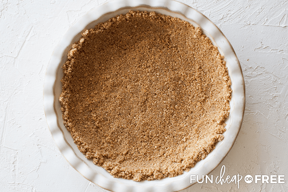 Graham Cracker Crust from Fun Cheap or Free