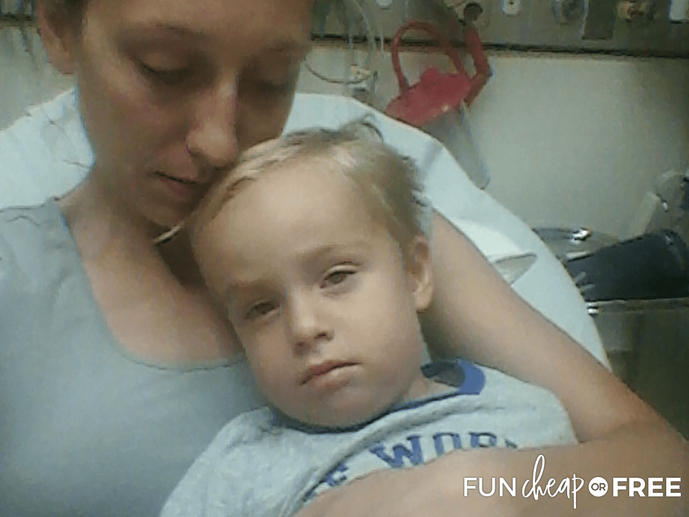 Hospital Stay After Nearly Drowning from Fun Cheap or Free