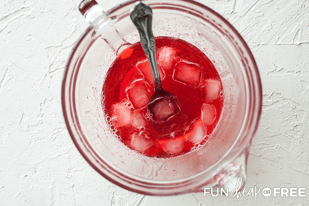 Jello With Ice Cubes from Fun Cheap or Free