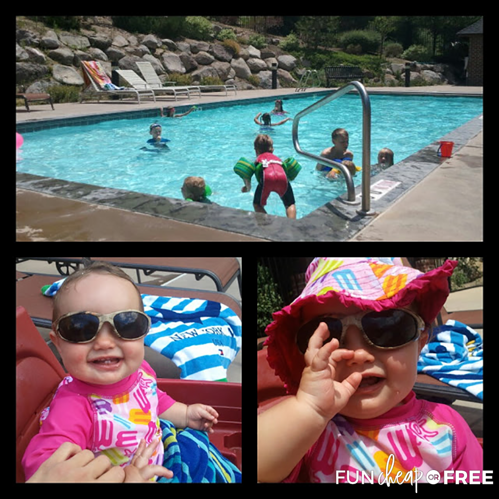 Picture Collage Before Nearly Drowning from Fun Cheap or Free