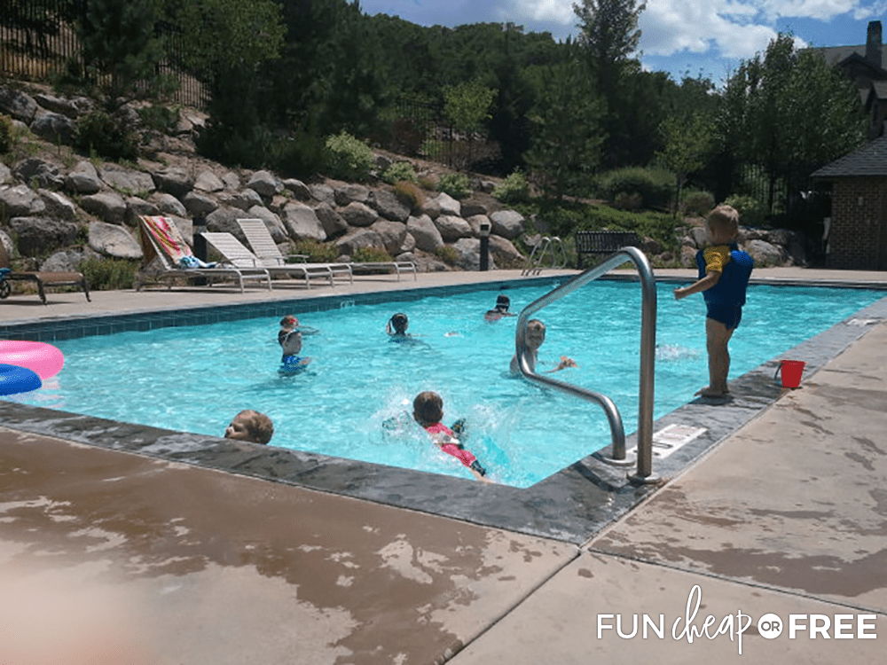 Splashing In The Water Before Nearly Drowning from Fun Cheap or Free