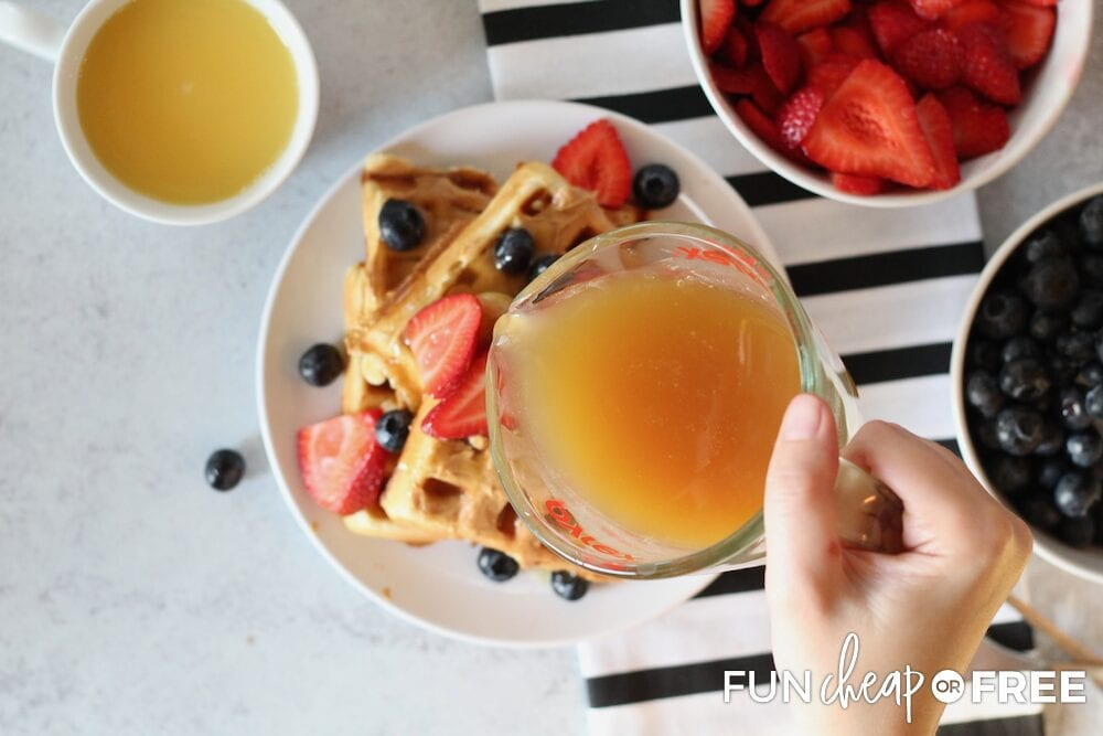 The Best Buttermilk Syrup Recipe from Fun Cheap or Free