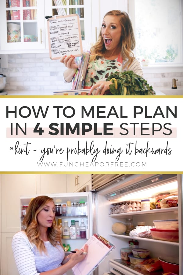 Meal Plan And Save Money from Fun Cheap or Free