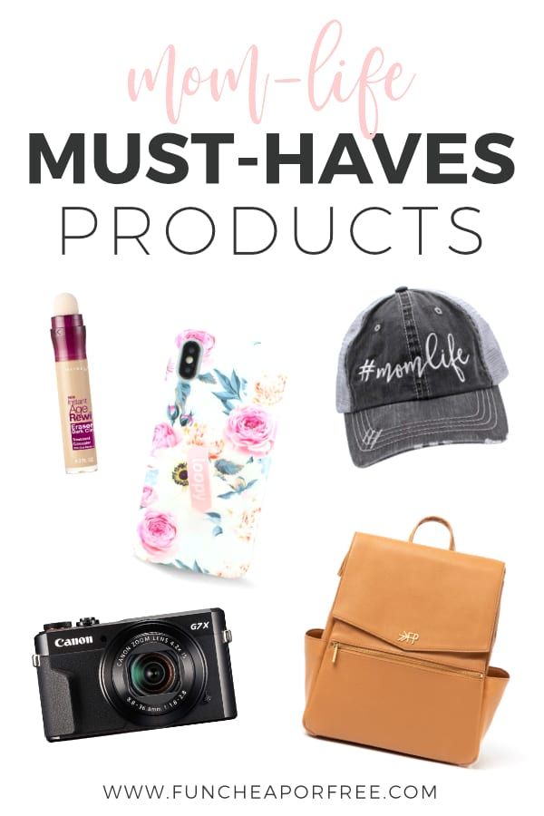 Must have baby products to make mom-life a little better on a daily basis from Fun Cheap or Free