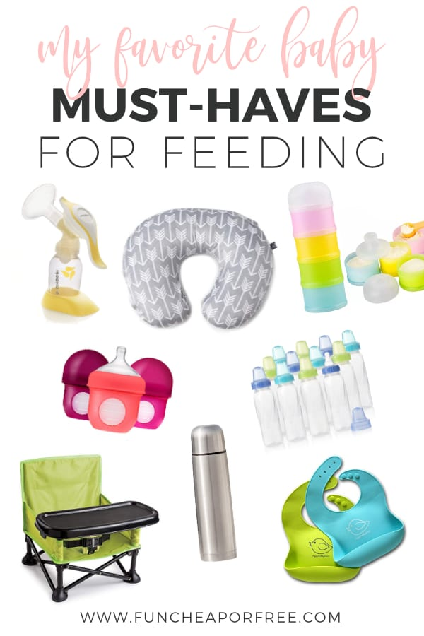 favorite baby must-haves for feeding, from Fun Cheap or Free