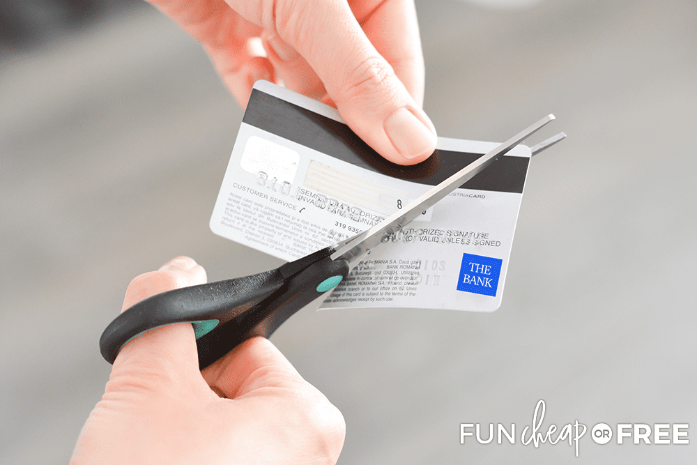 Cut Up Your Unused Credit Cards from Fun Cheap or Free
