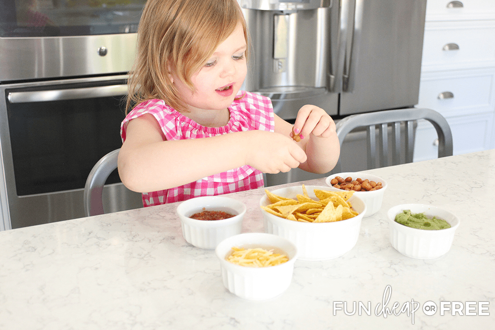 Kids love to make their own creations when it comes to after school snacks - Tips from Fun Cheap or Free