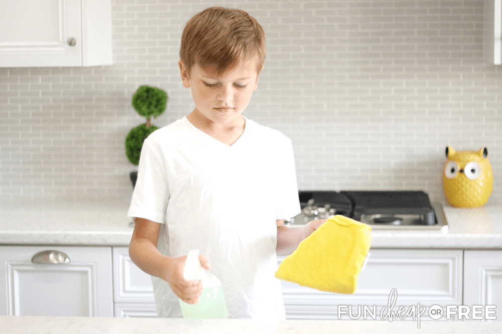 Turn cleaning into a fun competition - Tips from Fun Cheap or Free