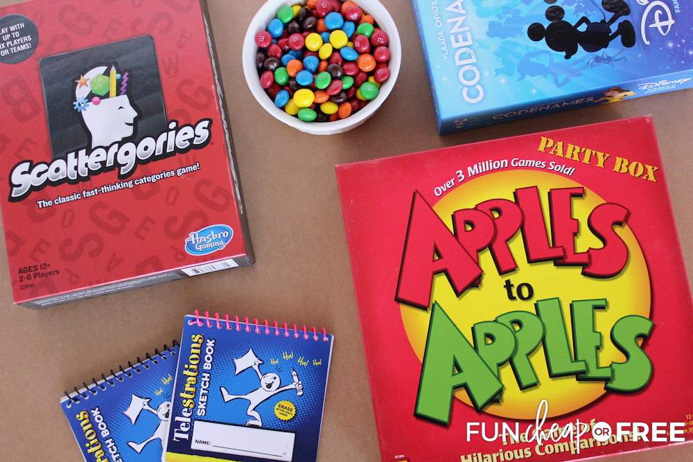 Fun party ideas to play with friends from Fun Cheap or Free