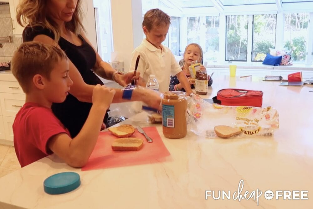 Prep lunches to make mornings go smoothly - Tips from Fun Cheap or Free