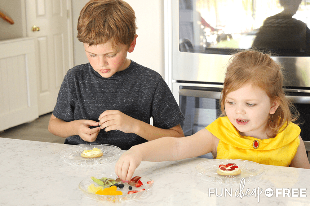 Let your kids choose their own toppings to make it more fun - Tips from Fun Cheap or Free