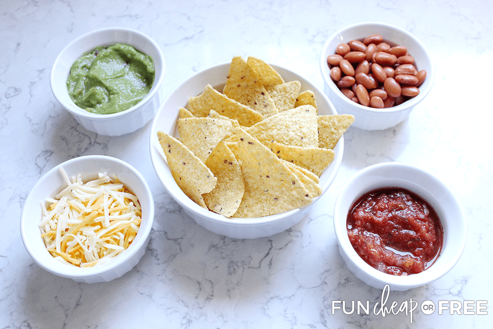 Chips and dip is a great after school snack - Tips from Fun Cheap or Free