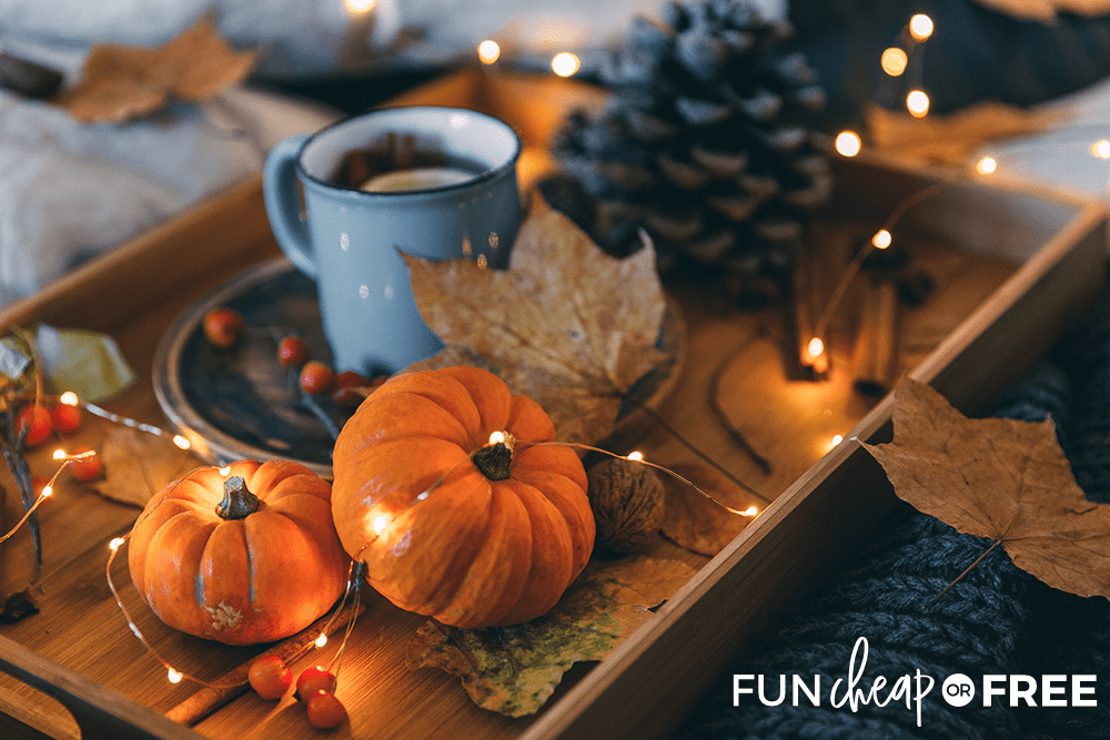 Decorate your house for Fall - Tips from Fun Cheap or Free