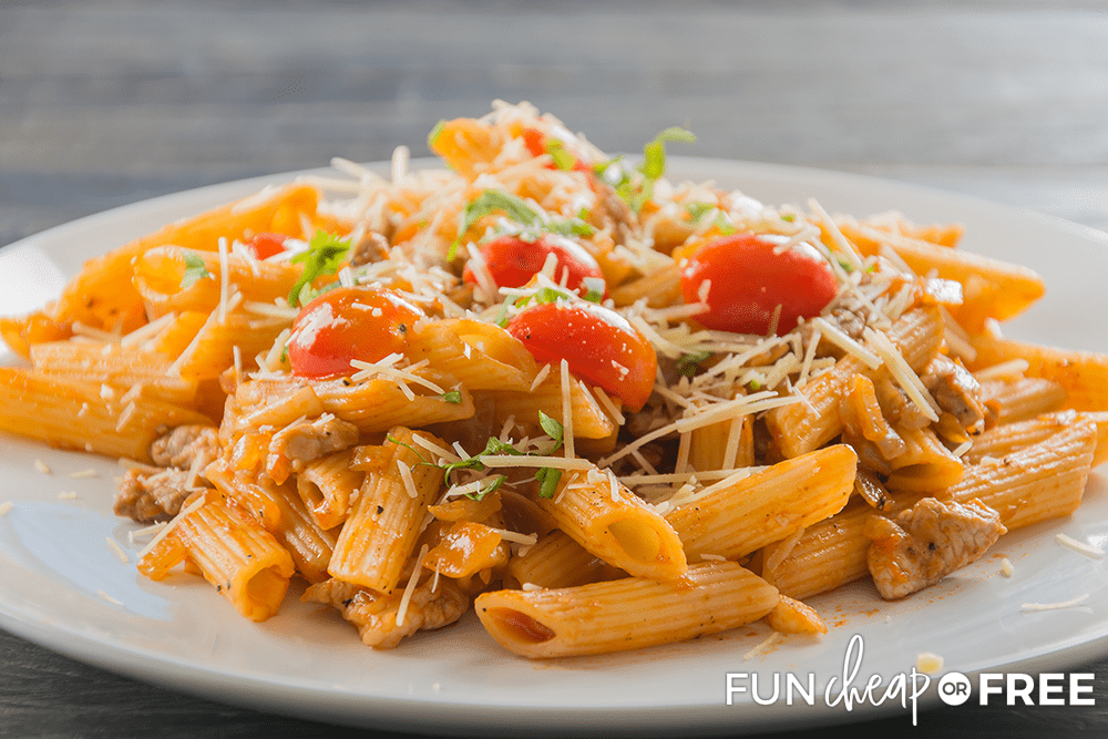 Pasta sauce can be used in a lot of recipes - Tips from Fun Cheap or Free