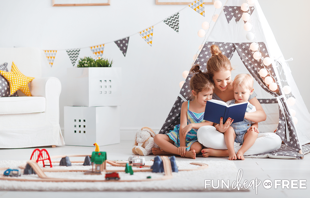 Keep kids at home for your side hustle - Tips from Fun Cheap or Free