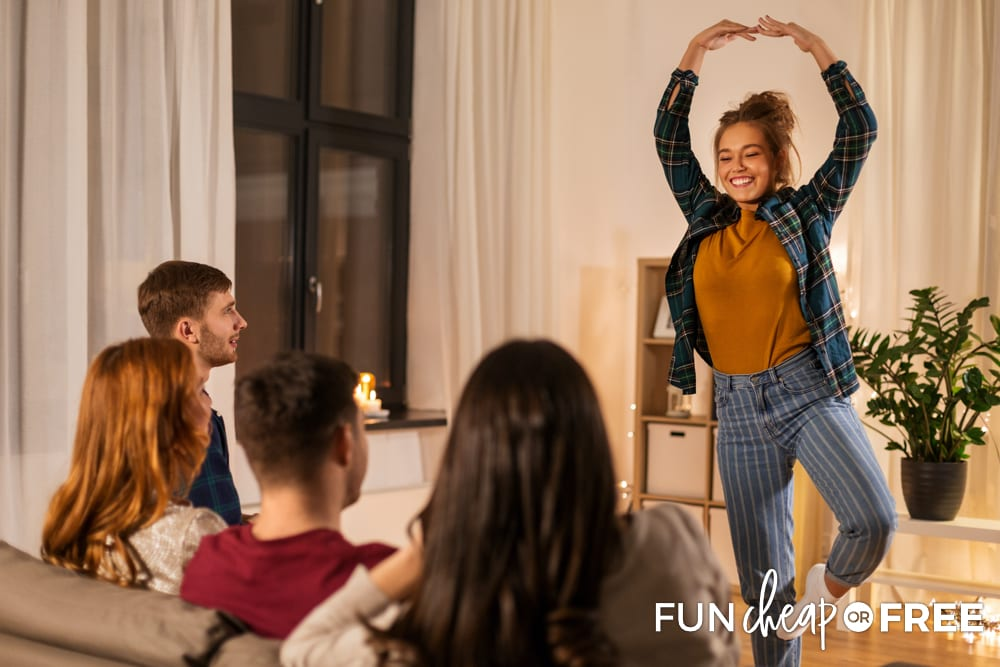 Mirror charades is a fun game to play with friends - Tips from Fun Cheap or Free