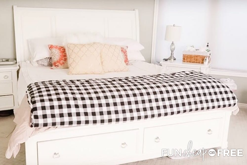 Frugal living bedroom tips to keep your utilities in check - Tips from Fun Cheap or Free
