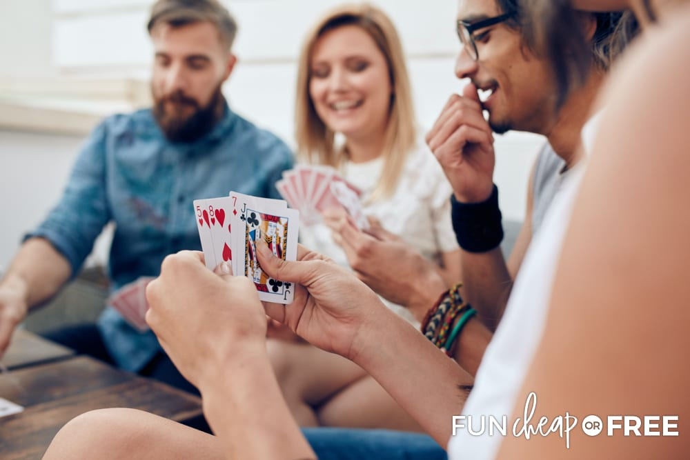 Try playing spoons at your next game night - Tips from Fun Cheap or Free