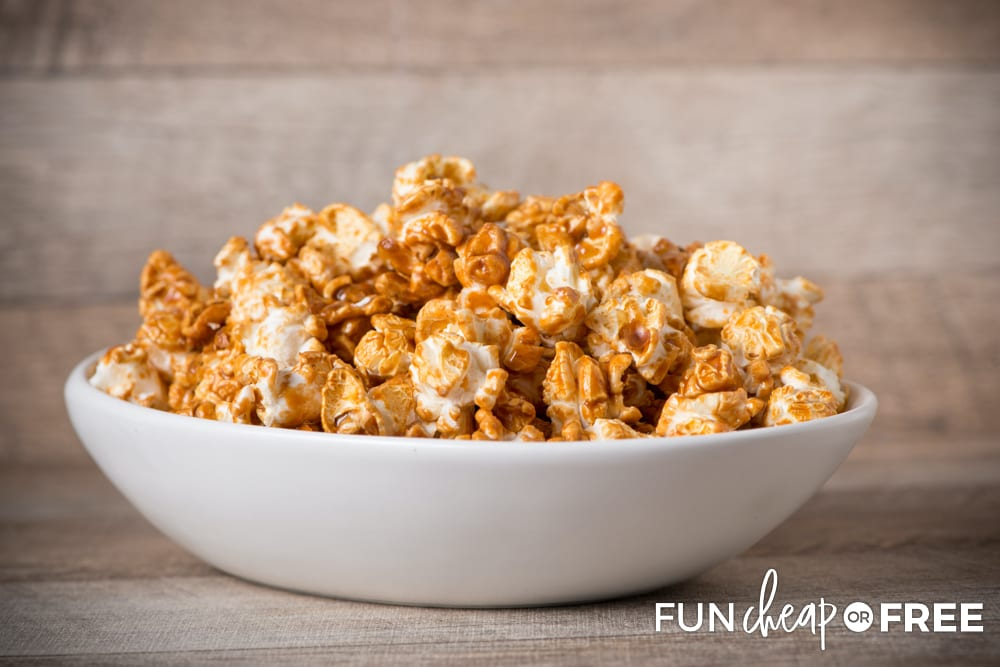 Use it as a topping over popcorn - Tips from Fun Cheap or Free