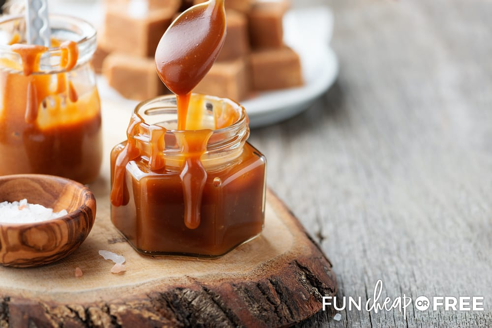 This easy homemade caramel recipe is sure to be a new Fall favorite - Tips from Fun Cheap or Free