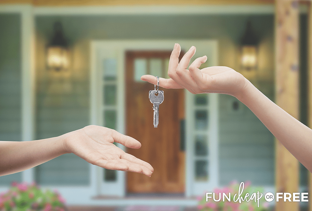 Work on your long-term savings goal for the down payment on a house - Tips from Fun Cheap or Free