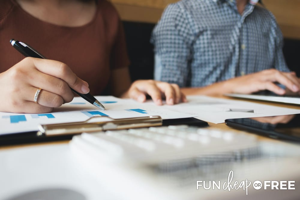 Plan your money date - Tips from Fun Cheap or Free