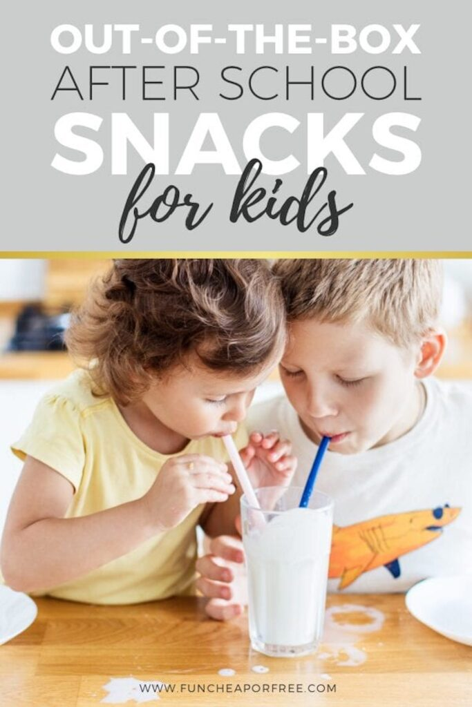 Kids drinking a smoothie, from Fun Cheap or Free