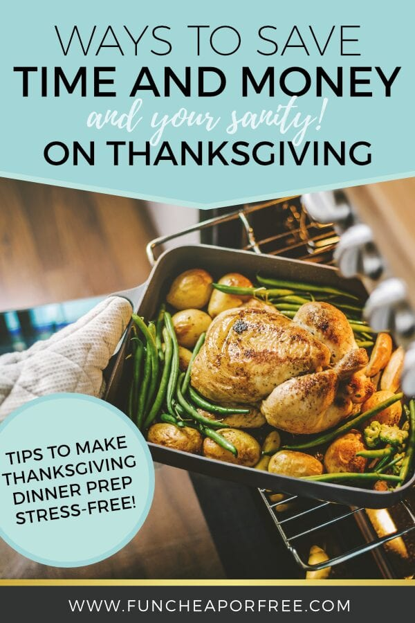 Turkey, green beans, and potatoes in a baking dish, from Fun Cheap or Free