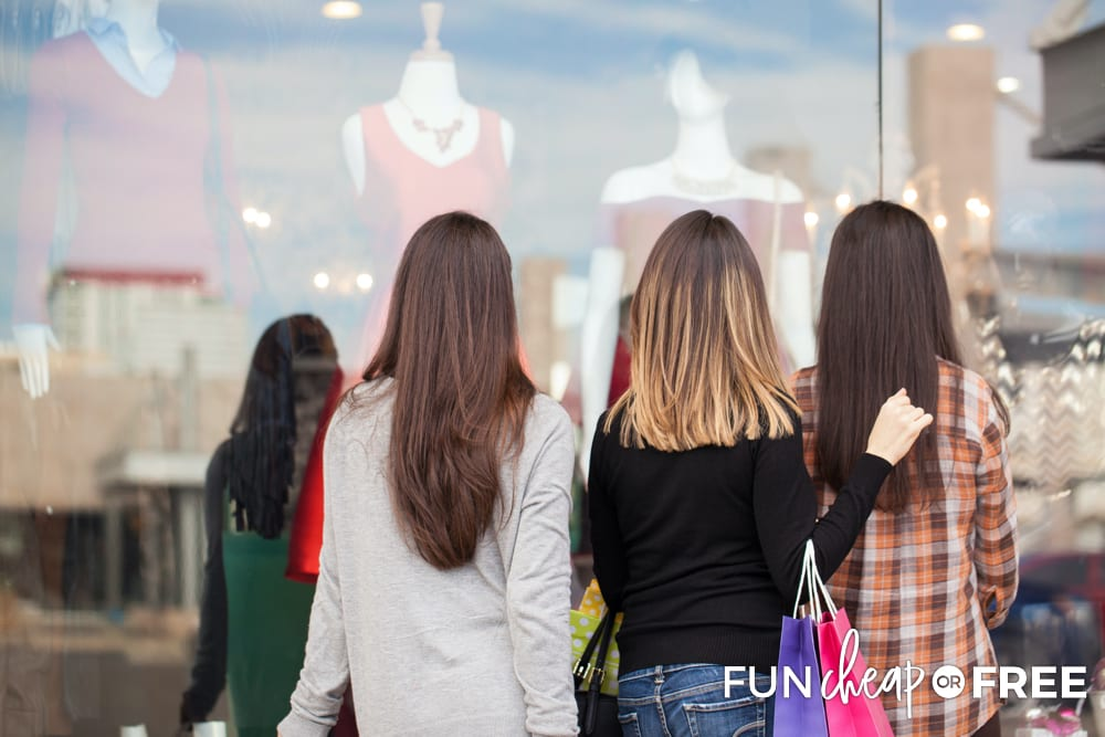 Use a buddy system for your Black Friday shopping - Tips from Fun Cheap or Free